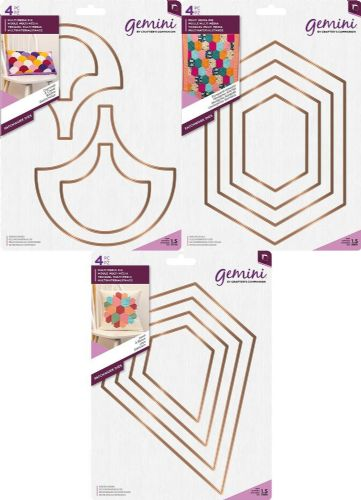 Gemini - Multi Media Patchwork Dies - 2019